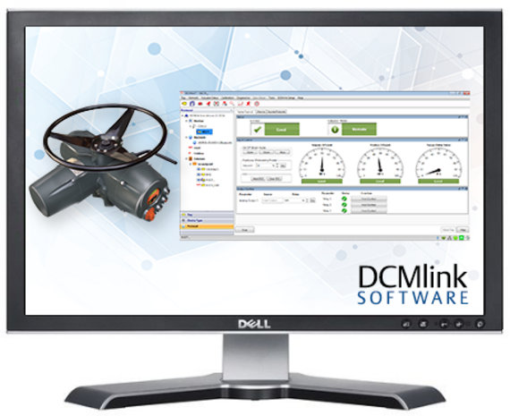 DCMlink Software for Electric Valve Actuators