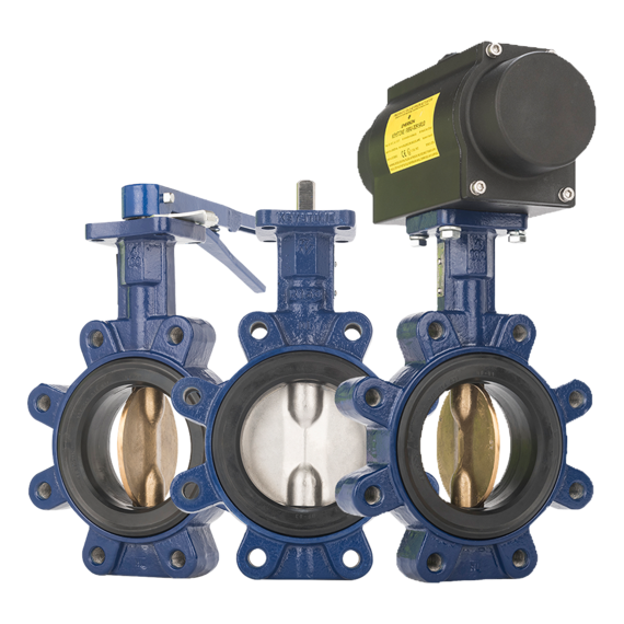 Keystone Series GR Resilient Seated Butterfly Valves-FAMILY