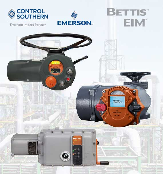 Exclusive Representative for Bettis and EIM Electric Actuators