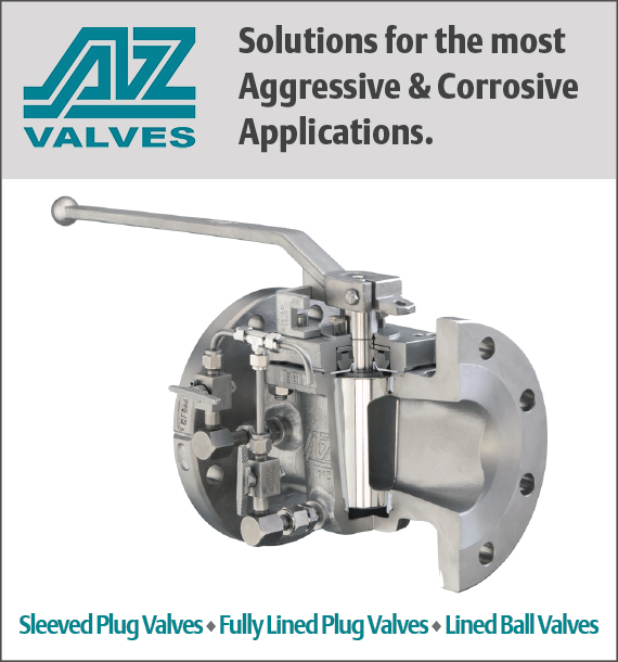 Specialty Sleeved Plug Valves, Fully Lined Plug Valves, and Lined Ball Valves